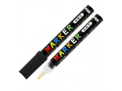 Popisovač M & G Acrylic Marker 2 mm akrylový, Blac