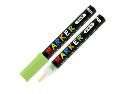 Popisovač M & G Acrylic Marker 2 mm akrylový, Yell
