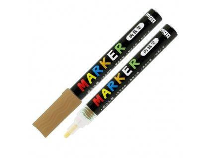 Popisovač M & G Acrylic Marker 2 mm akrylový,Gold