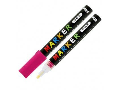 Popisovač M & G Acrylic Marker 2 mm akrylový,Rose