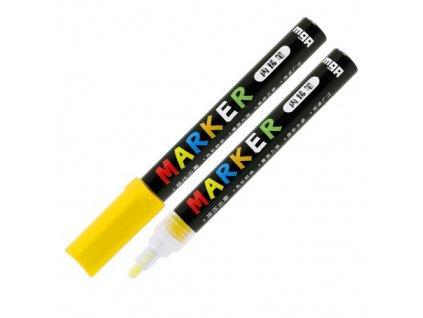 Popisovač M & G Acrylic Marker 2 mm akrylový,Yello