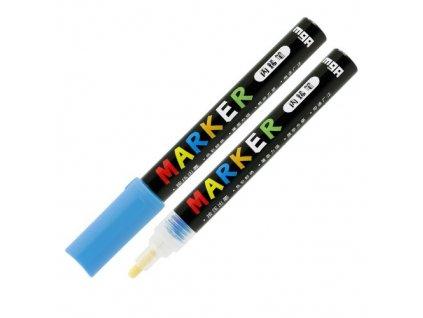 Popisovač M & G Acrylic Marker 2 mm akrylový,Azure