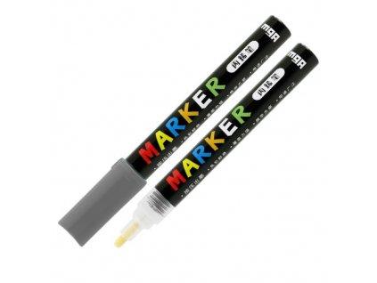 Popisovač M & G Acrylic Marker 2 mm akrylový,Dark