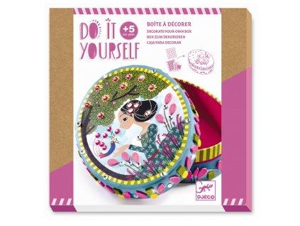 Kreativní sada - DIY krabička Princezna