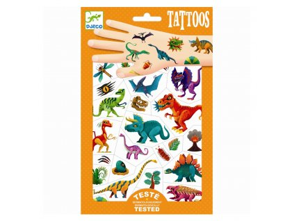 Tetování - Svět dinosaurů