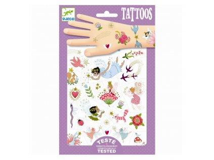 Tetování - Víly a přátelé