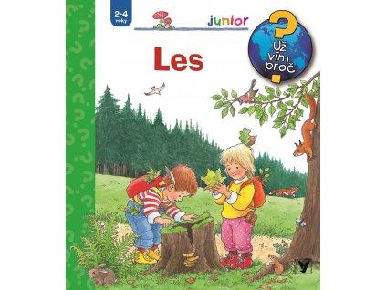 Les - Naučná knížka o přírodě pro nejmenší