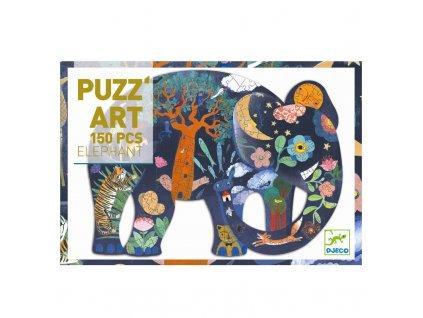 Puzzle - Slon 150 dílků
