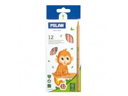 Pastelky MILAN šestihranné 2,9 mm 12 ks