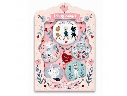 Odměňovací odznaky - Kočičky