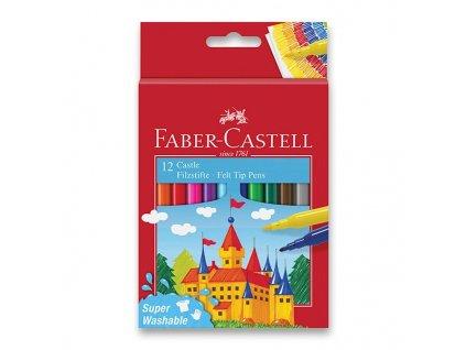 Dětské fixy Faber-Castell Castle - 12 barev