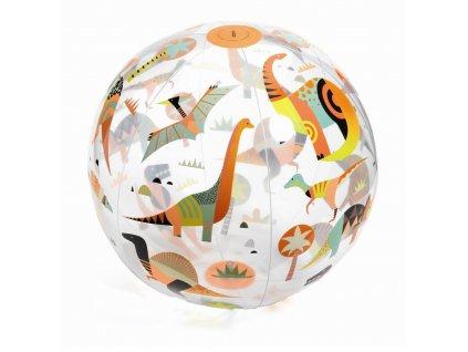 Nafukovací míč fluorescentní - Dino