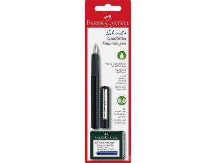 Školní bombičkové pero - černé