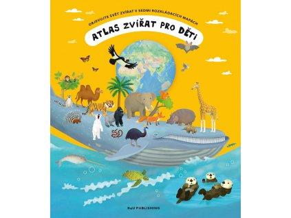 B4U Publishing Atlas zvířat pro děti - Tomáš Tůma