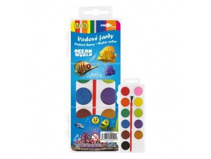 Barvy vodové Ocean World 12 barev 21mm