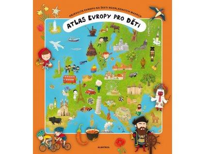 ALBATROS Atlas Evropy pro děti -  Oldřich Růžička, Tomáš Tůma