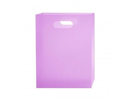 Box na sešity A4 PP Opaline Frosty fialová