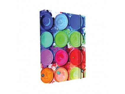 Box na sešity A4 Barvy