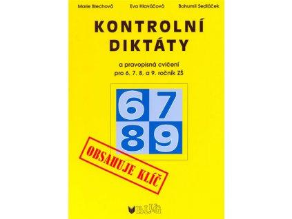 Kontrolní diktáty pro 6.7.8.a 9.ročník