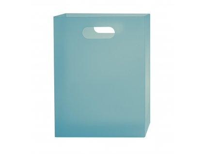 Box na sešity A4 PP Opaline Frosty tyrkysová