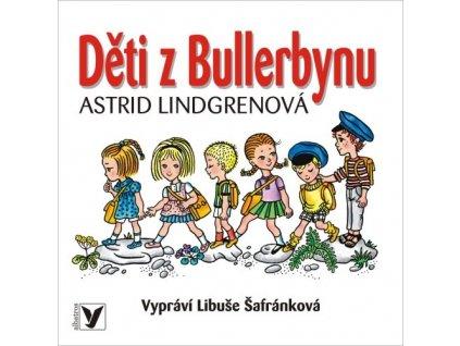 ALBATROS Děti z Bullerbynu (audiokniha pro děti) - Astrid Lindgrenová