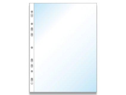 Zakládací obal Economy U A4, 100 ks - transparent