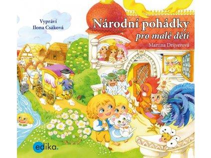 ALBATROS Národní pohádky pro malé děti (audiokniha pro děti) - Martina Drijverová