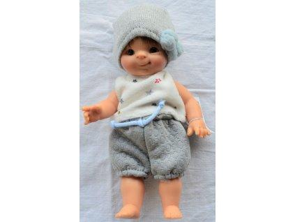 Panenka - Chlapeček Fidel v pletené čepičce