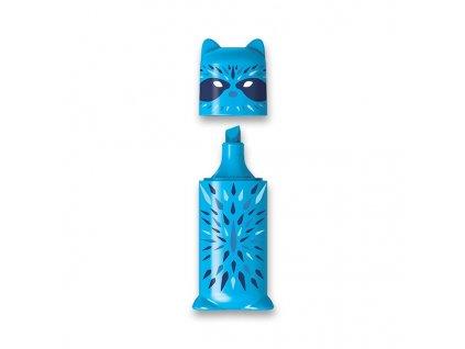 Zvýrazňovač Maped Fluo Peps Mini Friends modrý
