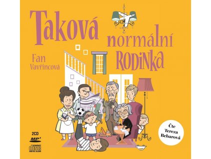 XYZ Taková normální rodinka (audiokniha) - Fan Vavřincová