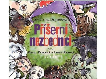ALBATROS Příšerní nezbedníci (audiokniha pro děti) - Martina Drijverová