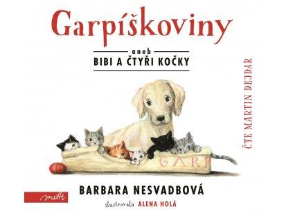 MOTTO Garpíškoviny (audiokniha) - Barbara Nesvadbová