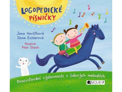 Fragment Logopedické písničky (audio CD pro děti) -  Jana Havlíčková, Ilona Eichlerová
