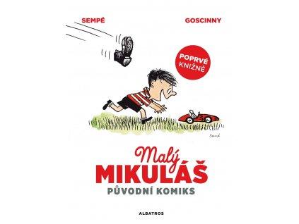 ALBATROS Malý Mikuláš původní komiks - René Goscinny