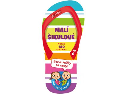 Ella&Max MALÍ ŠIKULOVÉ, 4-5 let – Kvízy na cesty