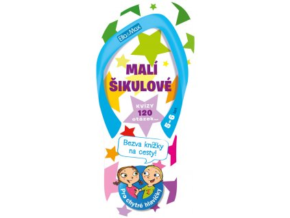 Ella&Max MALÍ ŠIKULOVÉ, 5-6 let – Kvízy na cesty