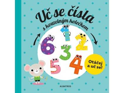 ALBATROS Uč se čísla s kouzelným kolečkem