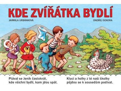 ALBATROS Kde zvířátka bydlí - Jarmila Urbánková