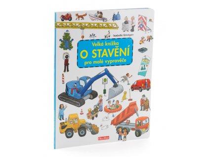 PRESCO GROUP Velká knížka o stavění pro malé vypravěče