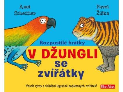 PRESCO GROUP Rozpustilé hrátky V džungli se zvířátky