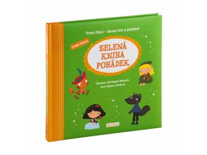 PRESCO GROUP Zelená kniha pohádek, první čtení - bezva hra a poučení