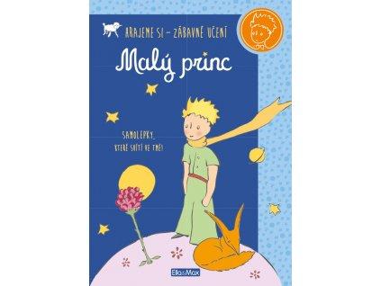 MALÝ PRINC – Kniha aktivit modrá + svítící samolepky