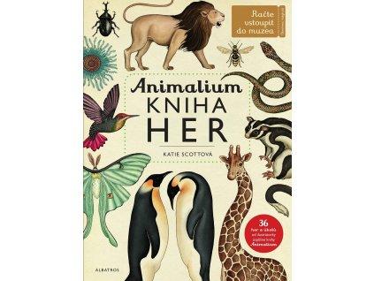 ALBATROS Animalium - kniha her - Jenny Broomová