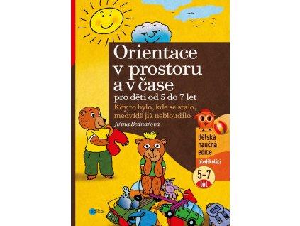 EDIKA Orientace v prostoru a v čase pro děti od 5 do 7 let - Jiřina Bednářová