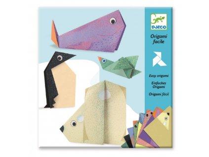 DJECO Origami - Polární zvířátka