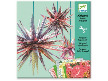 DJECO Kirigami - Papírové hvězdy