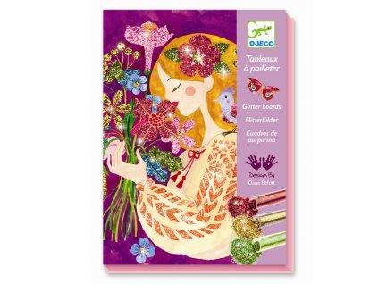 DJECO Kreativní sada - Květinové dívky