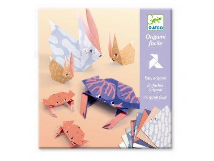 DJECO Origami - Zvířecí rodinky