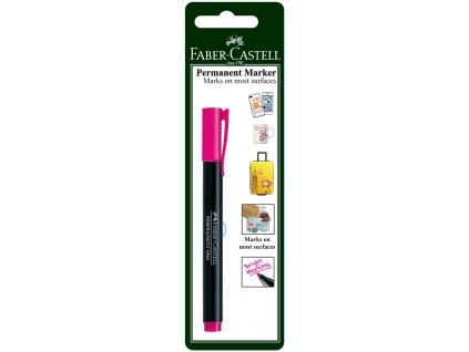 Faber-Castell Popisovač MULTI PURPOSE SLIM, růžová