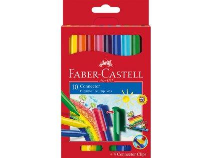 Faber-Castell Popisovače klipové Connector 10ks